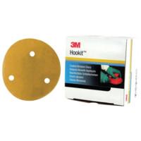 Pack Of 50 3M A01648 245 Hookit Disc 150mm P60 Plain