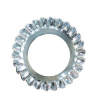 Qualfast Countersunk Serrated Lock Washer - Metric - Spring Steel