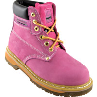 SK21 Ladies Pink Safety Boots