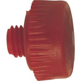 Medium Hard Red Spare Face 44mm dia