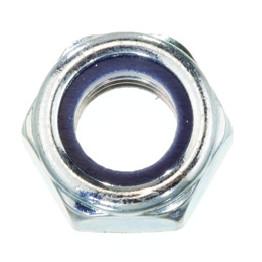 Qualfast Lock Nuts, Metric - Steel - BZP (Bright Zinc Plated
