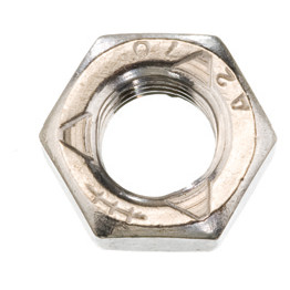 Qualfast Lock Nuts, All - Metal, Metric - A2 Stainless