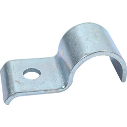 76mm Saddle Pipe Tube Clip Clamp BZP U Type Bright Zinc Plated