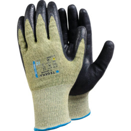 Ejendals 666 Tegera® Green/Black DuPont Kevlar Gloves | Cromwell Tools