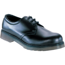 Contractor 160 Cushion Sole Black Safety Shoes Cromwell Tools