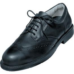 e0e6b7a83fcb Uvex 9541 9 Black Brogue Office Safety Shoes