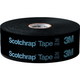 3M Scotchrap PVC Black Electrical Tapes | Cromwell Tools