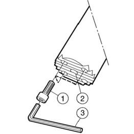 Neutral Cut Silent Tools 5729431 Sandvik Coromant C8-570-3C 25 147 Steel Coromant Capto to CoroTurn SL damped adaptor