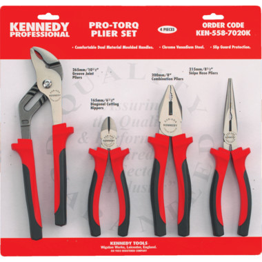 Kennedy 4 Piece Circlip Plier Set