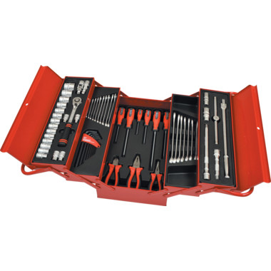 b3fa4f79bb5 Workshop 50 PIECE TOOL KIT IN CANTILEVER TOOLBOX 1050