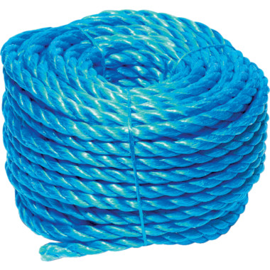 10m white polypropylene rope poly cord 3mm
