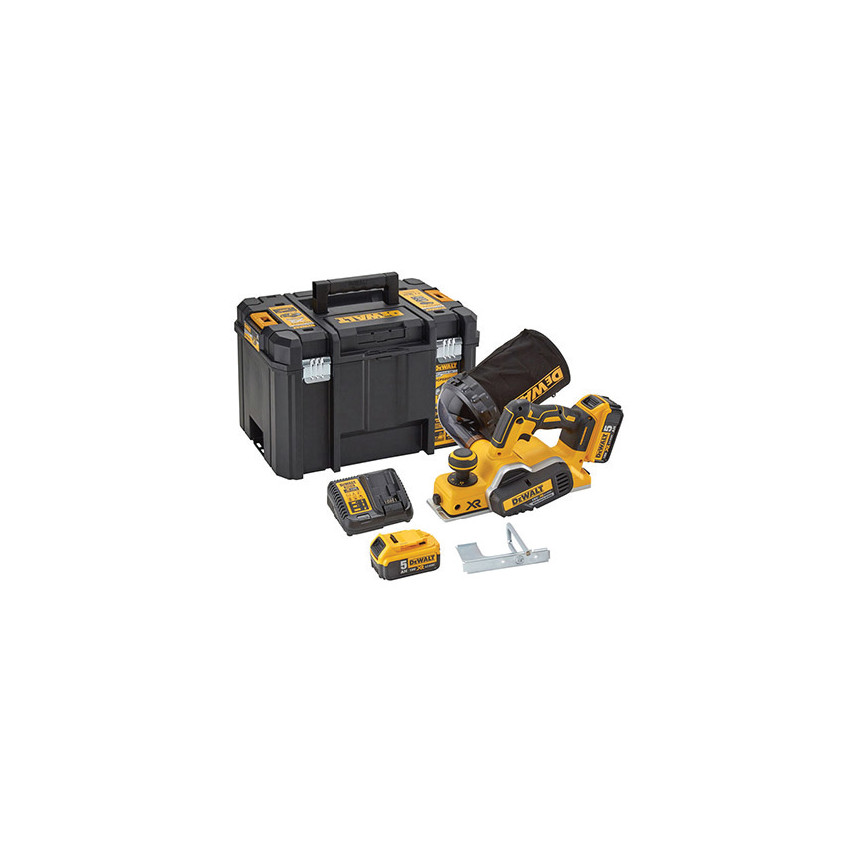 DeWalt DCP580P2-GB 18V XR Brushless Planer Kit DCP580P2-GB | Cromwell Tools