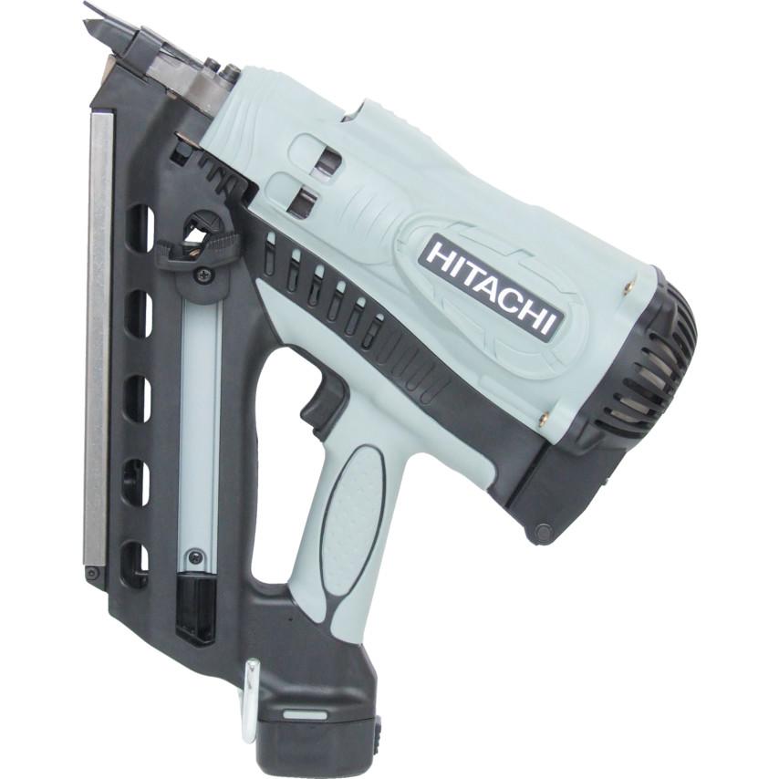 Hitachi Power Tools NR90GC2 GAS FRAMING NAILER CLIPPED HEAD 2x1.4AH ...