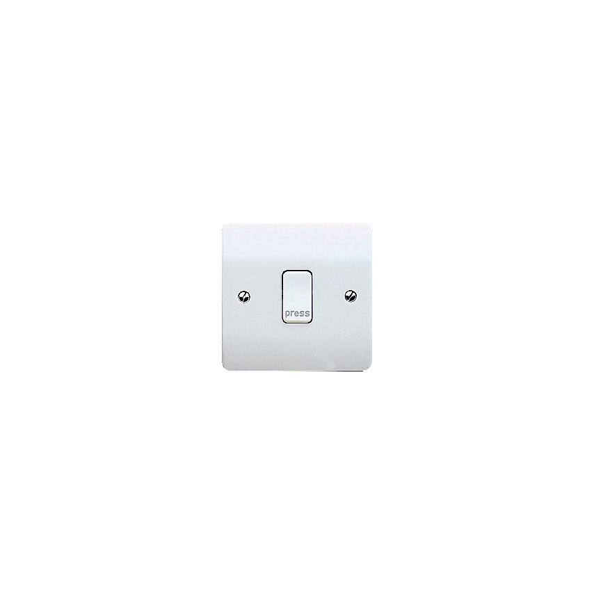 Mk Electric K4878prpwhi 10amp 1