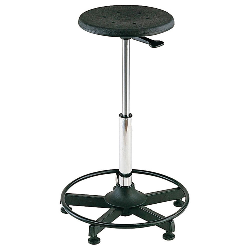 Outstanding Static Work Stool Height Adjustable From 570 830Mm Machost Co Dining Chair Design Ideas Machostcouk