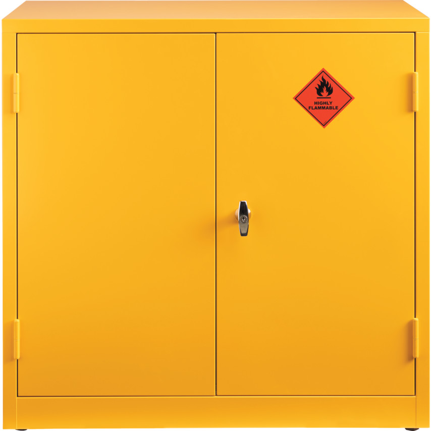 Awesome Flammable Storage Cabinets   Yellow 915x459x459mm FLAMMABLE STORAGE CABINET  YELLOW Images