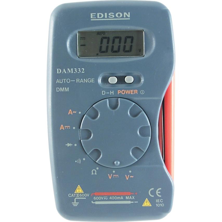 Edison DAM332 POCKET DIGITAL MULTIMETER M320 | Cromwell Tools
