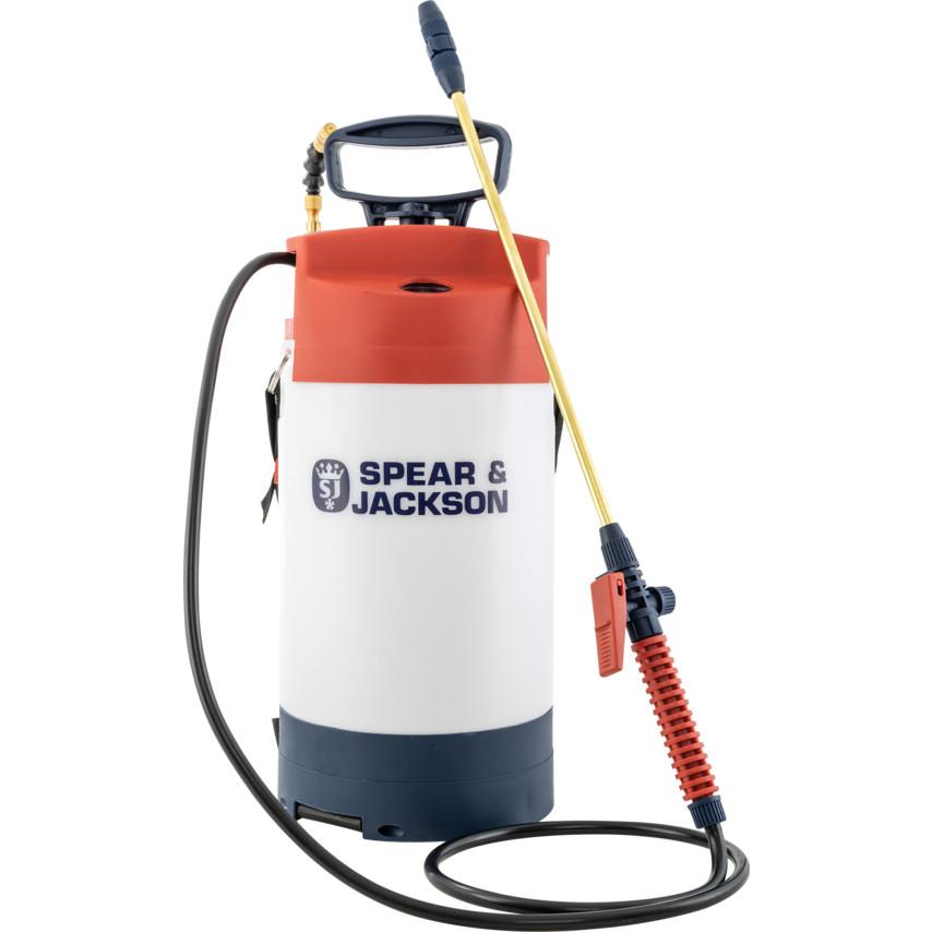 5 L Spear /& Jackson Pump Action Pressure Sprayer