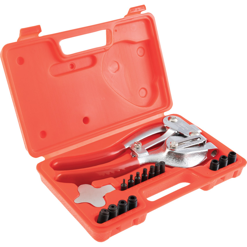 Kennedy Hand Operated Power Hole Punch Kit Cromwell