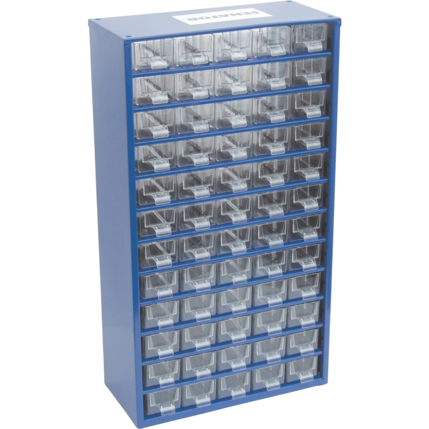 senator 60 drawer small parts storage cabinet 6750 (60) | cromwell