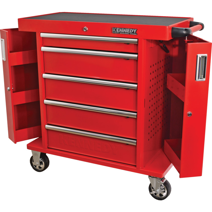 Kennedy Industrial Range Roller Cabinets with Side Lockers  sc 1 st  Cromwell Tools & Roller Cabinets u0026 Tool Chests Tool Storage | Cromwell Tools