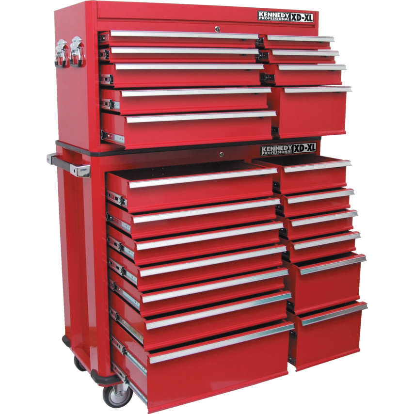 kennedy pro 9 drawer x large extra duty tool chest tbt4509 x rh cromwell co uk heavy duty tool storage cabinets heavy duty tool boxes on wheels