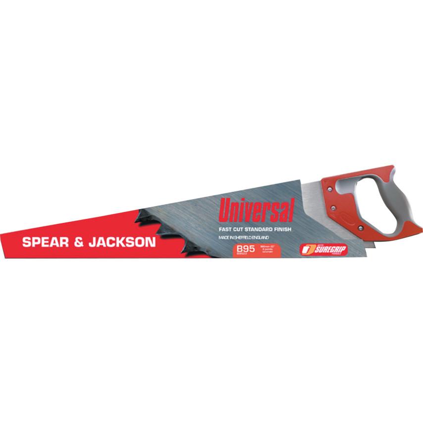 Spear and Jackson B9822 Predator Hardpoint 22 X 8 Saw