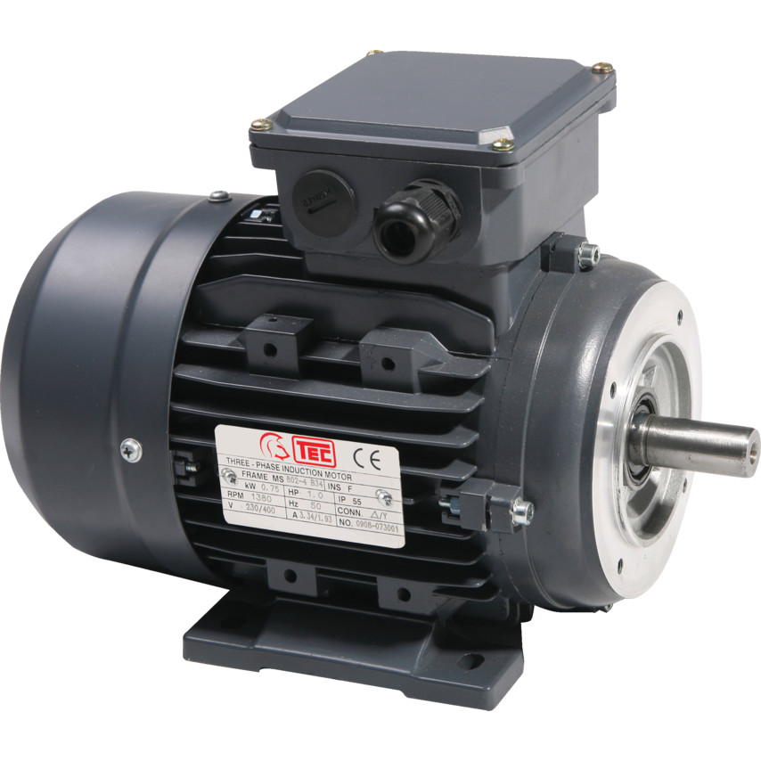 TEC IE2 Electric Motor 2.2kW 90M 4 Pole Foot Mounted