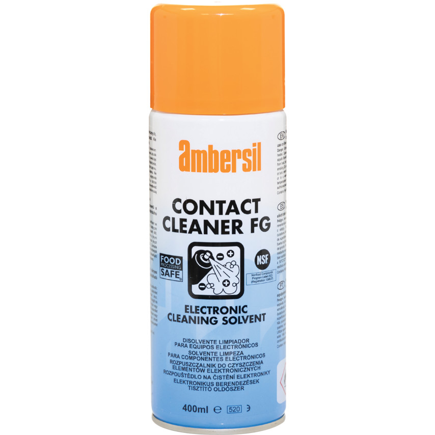 Uitzonderlijk Ambersil FG Contact Cleaner Electronic Cleaning Solvent - 400ml GV91