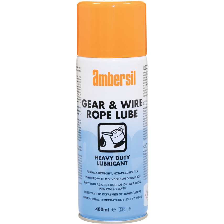 Ambersil Gear & Wire Rope Lubricant 400ml 31583 | Cromwell Tools