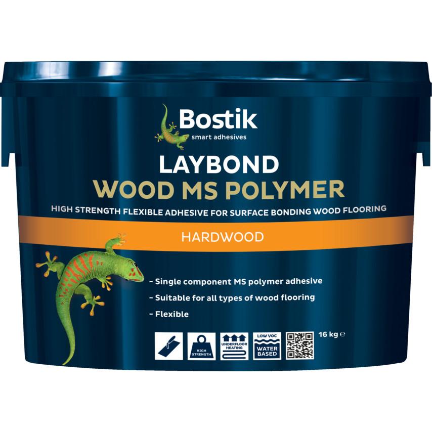 Bostik Laybond Wood Ms Polymer 16kg 30811818 Cromwell Tools