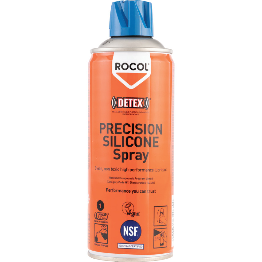 Top Rocol Precision Silicone Lubricant 400ml 34035 | Cromwell Tools MF17