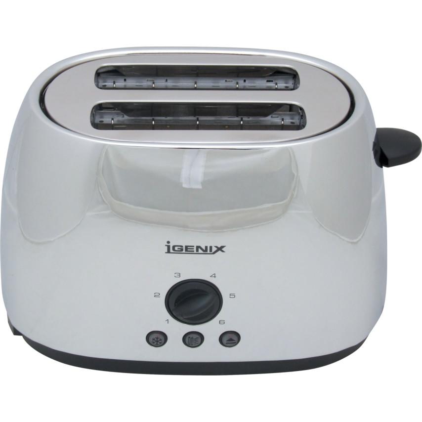 bc5cfb72273 Igenix IG3202 2 Slice Stainless Steel Toaster IG3202