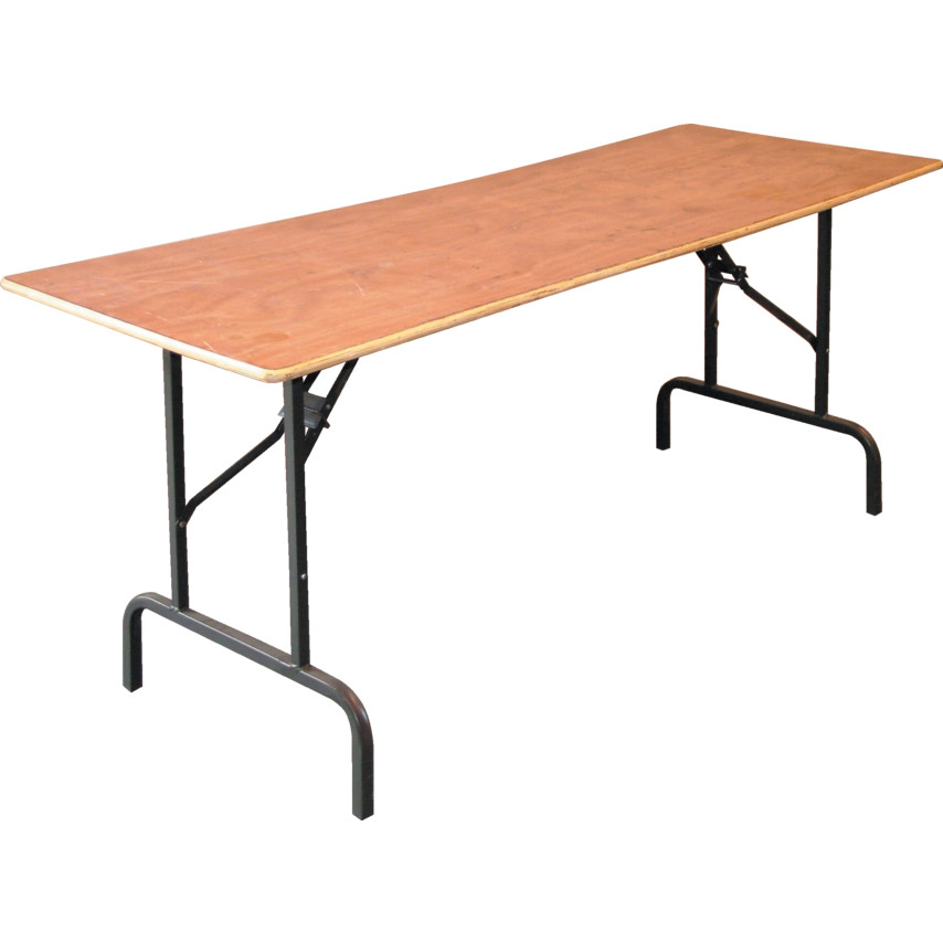 ... Unbranded Wtt05z Folding Leg Trestle Table 1800x665mm Wtt05z Wtt05z  Folding Leg Trestle Table 1800x665mm Wtt05z Folding ...