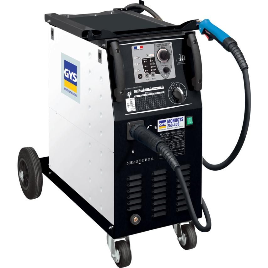Gys Monogys 250 4cs Single Phase Compact Synergic Mig Welder Inverter 230v 020368 20368 Cromwell Tools