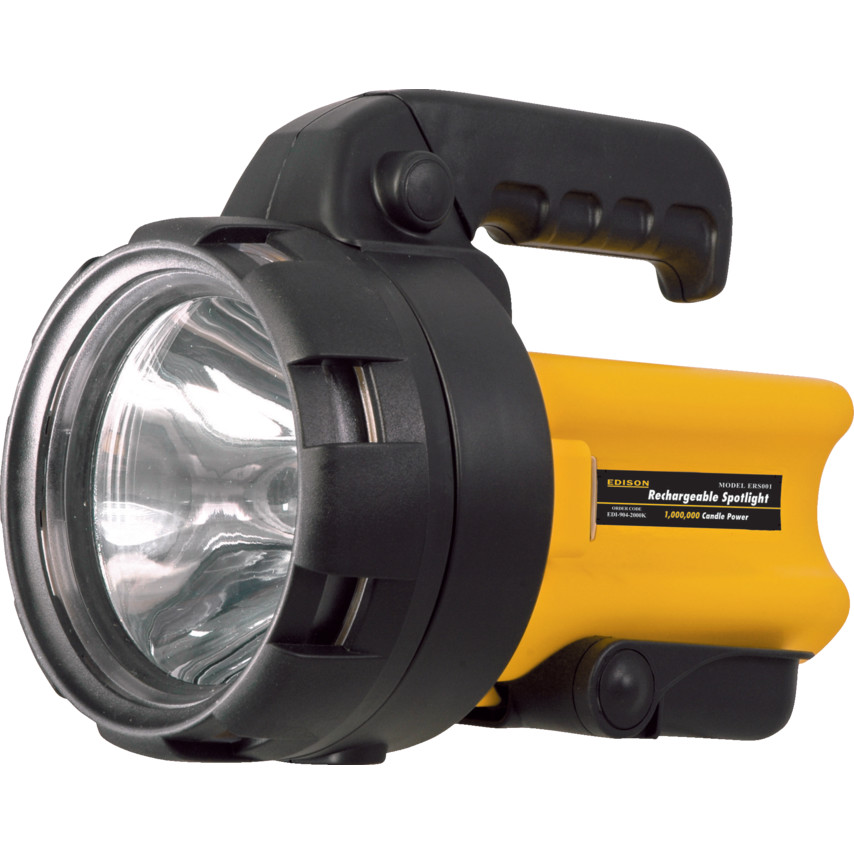 2 MILLION CANDLE POWER RECHARGEABLE CORDLESS HALOGEN SPOTLIGHT TORCH