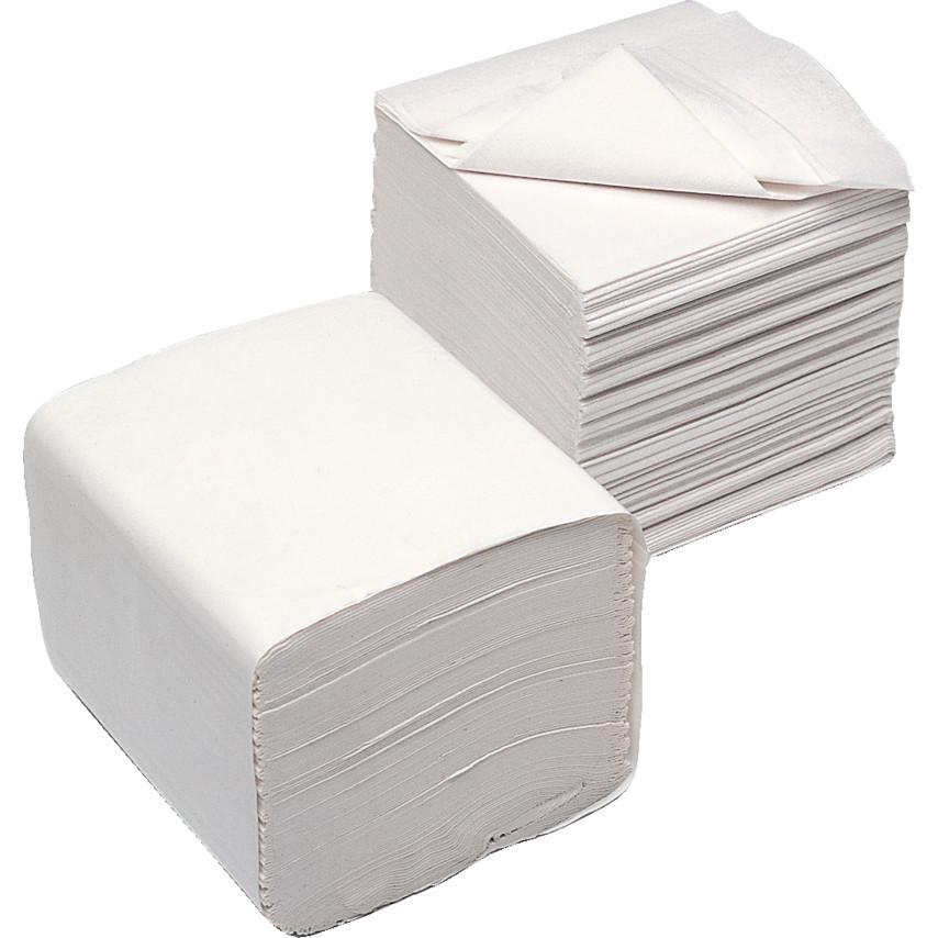 Flat Pack Interleaved Toilet Tissue 2ply Of 36
