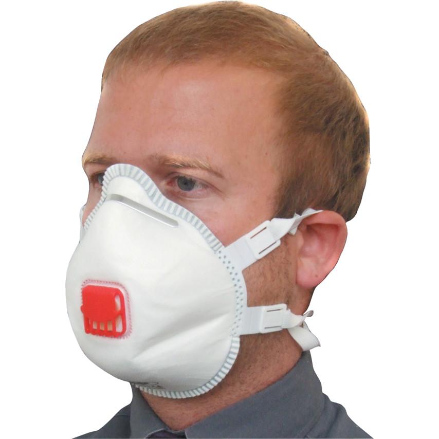 BEK130-001-000 FFP3V (132) Moulded Mask (PK-5)