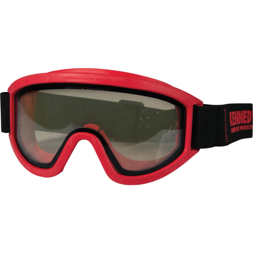0097bd1c07f Anti-Gas Flame Resistant Safety Goggles Condor Red Goggles Clear Lens Anti- Fog ...