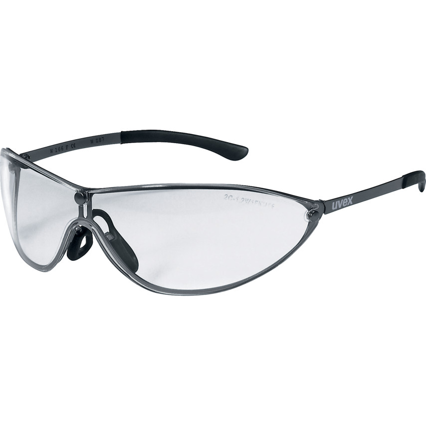 7983017ceecf Racer MT Safety Glasses 9153-105 Racer MT Specs Gun Metal Frame Clear Lens