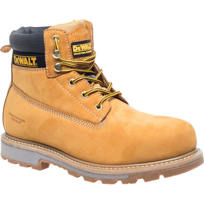 4ca86327b58 DeWalt Hancock 6″ SBP Safety Work Boots Wheat - Size 10 Hancock Wheat 10 |  Cromwell Tools