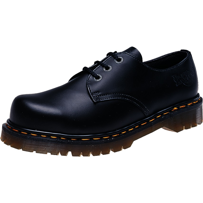 841478bc72c3e5 Dr Martens BLACK SAFETY SHOE SIZE 8-1925ZSAF 1925 | Cromwell ...