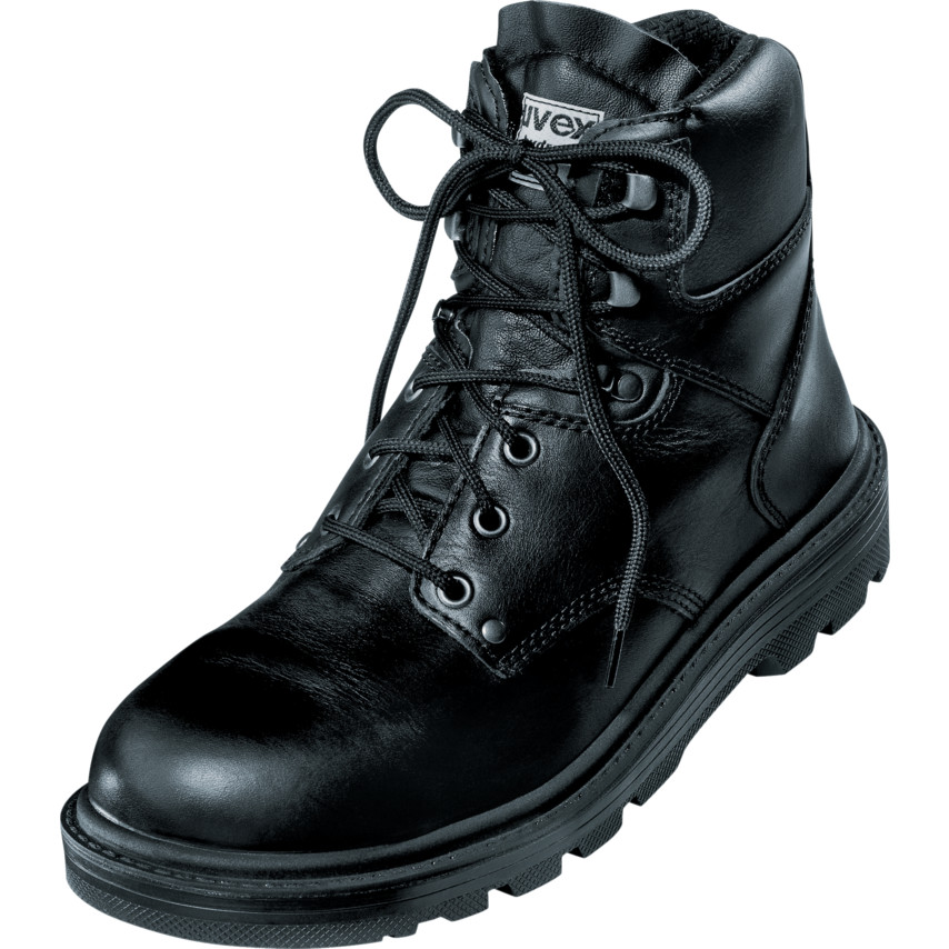 b5f7ea583c3 8451/9 Classic Black Safety Boots - Size 9
