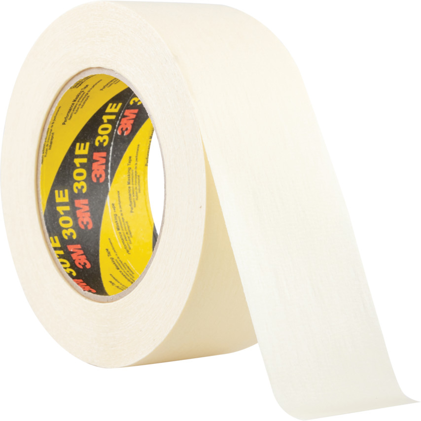 3M 301E Performance Cream Masking Tape - 72mm x 50m 7100044391 ...
