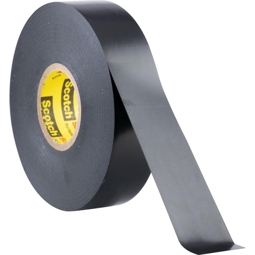 3M 33+ Scotch Super Black Vinyl Electrical Tape - 19mm x 20m 7000042541 |  Cromwell Tools