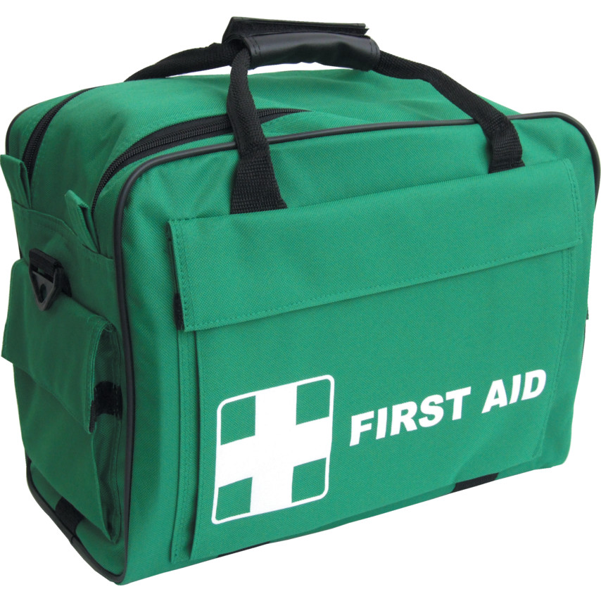 Green First Aid Carryall Empty